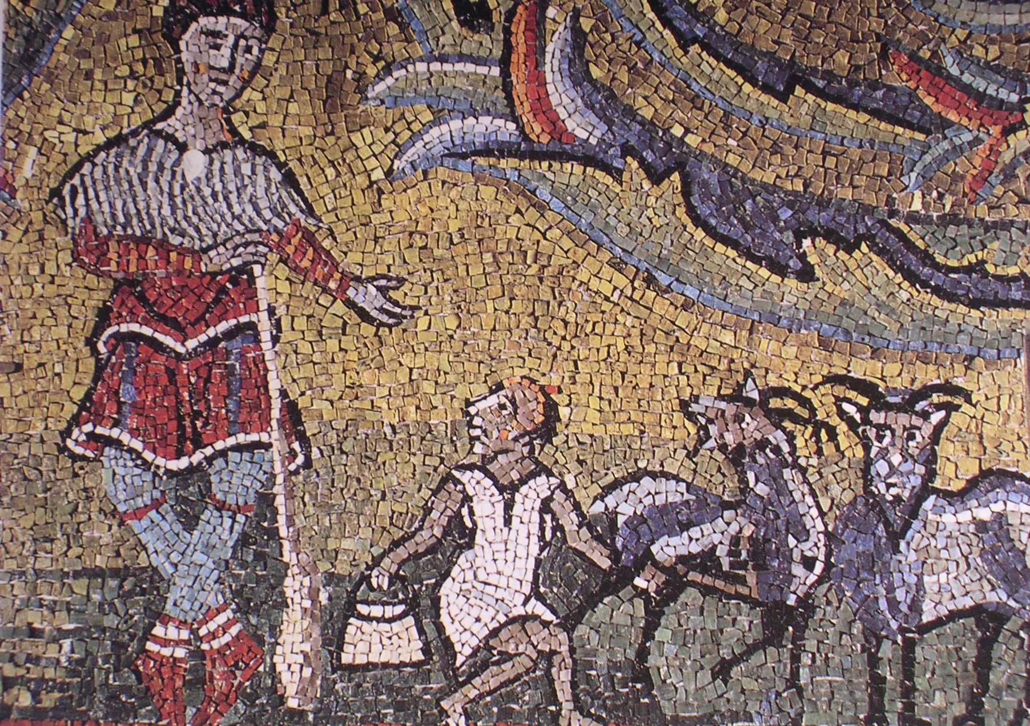 Mosaico di s.Clemente. (8)