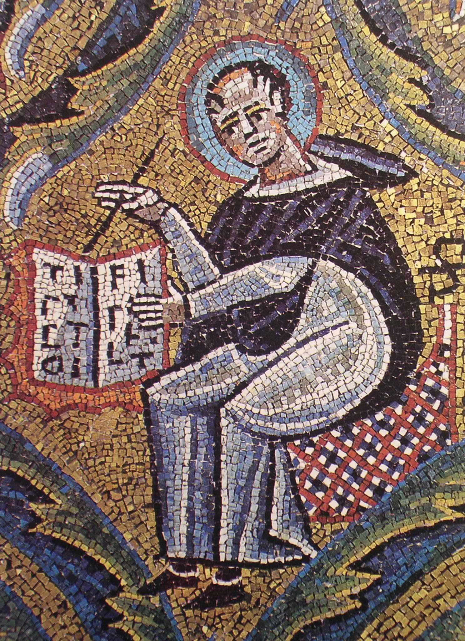Mosaico di s.Clemente. (11)