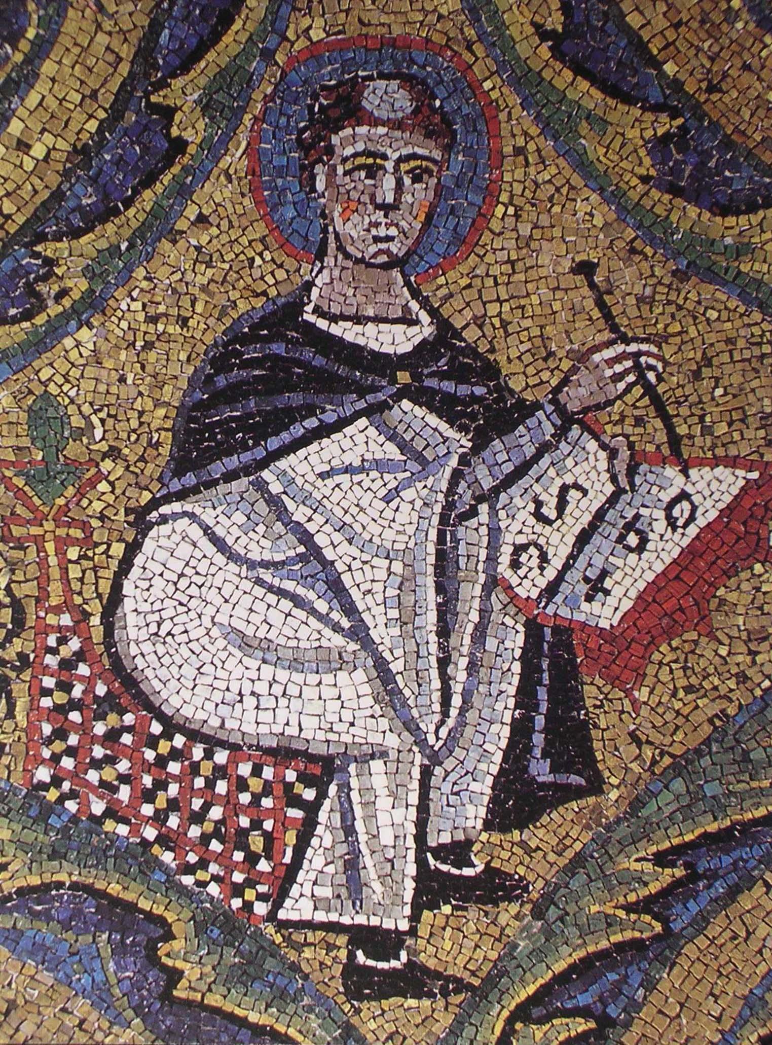 Mosaico di s.Clemente. (13)