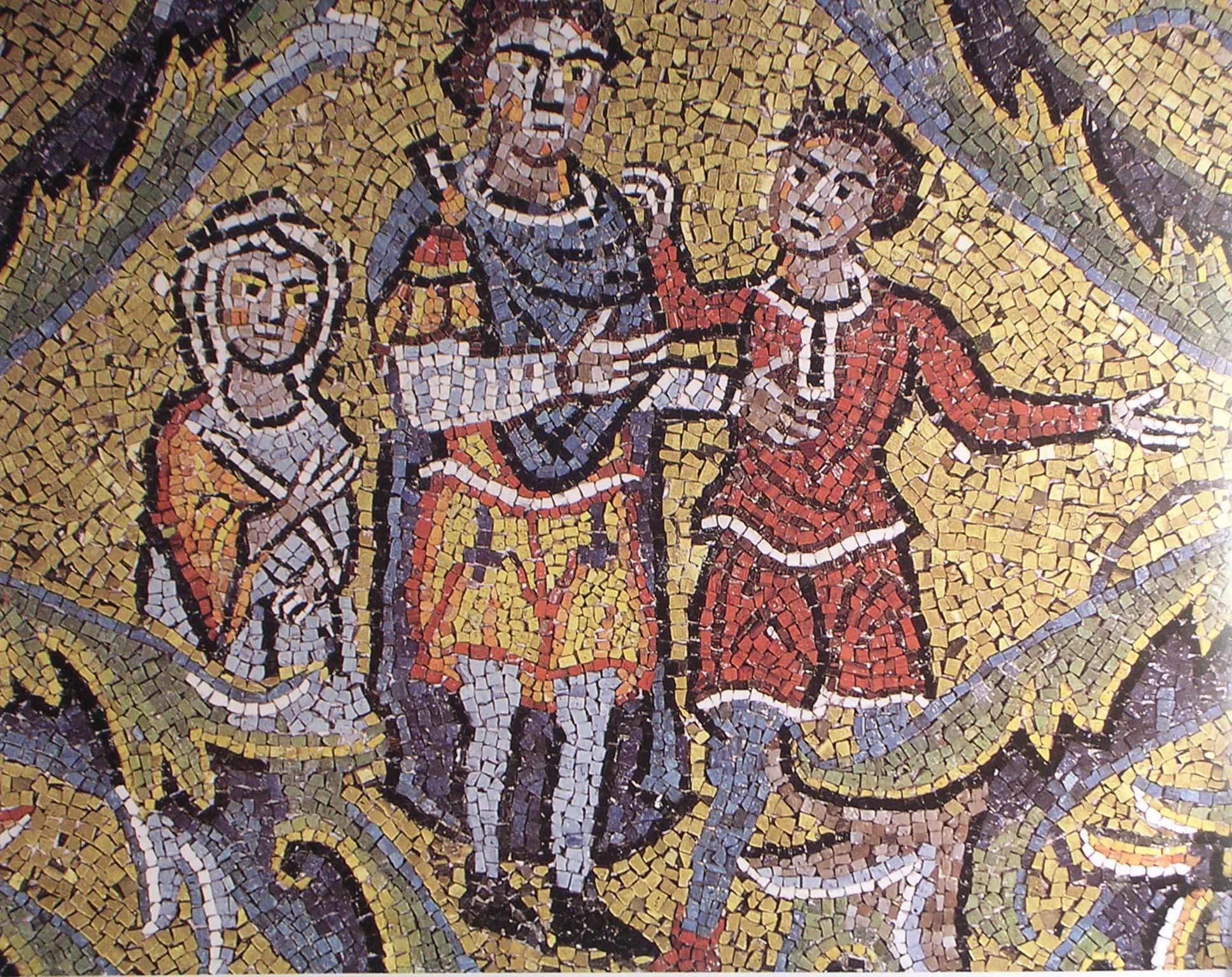 Mosaico di s.Clemente. (14)