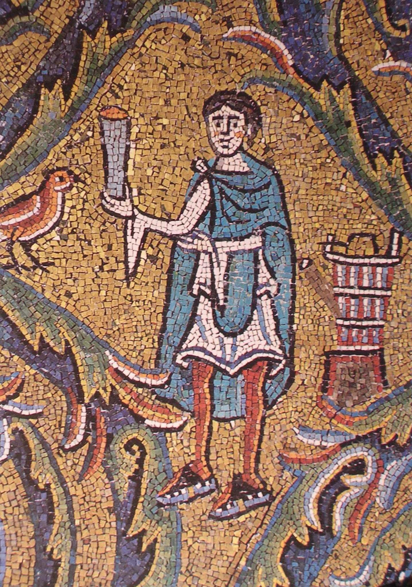Mosaico di s.Clemente. (17)