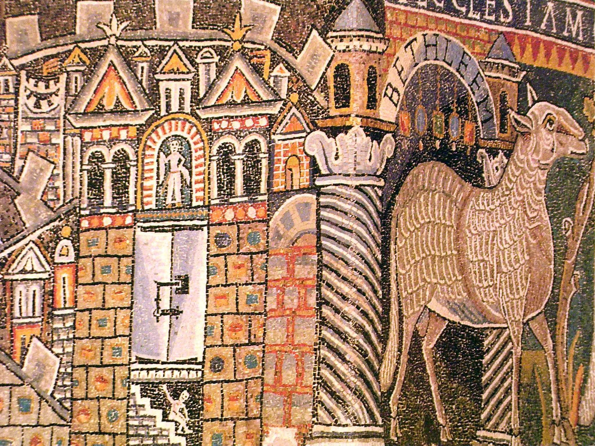 Mosaico di s.Clemente. (27)
