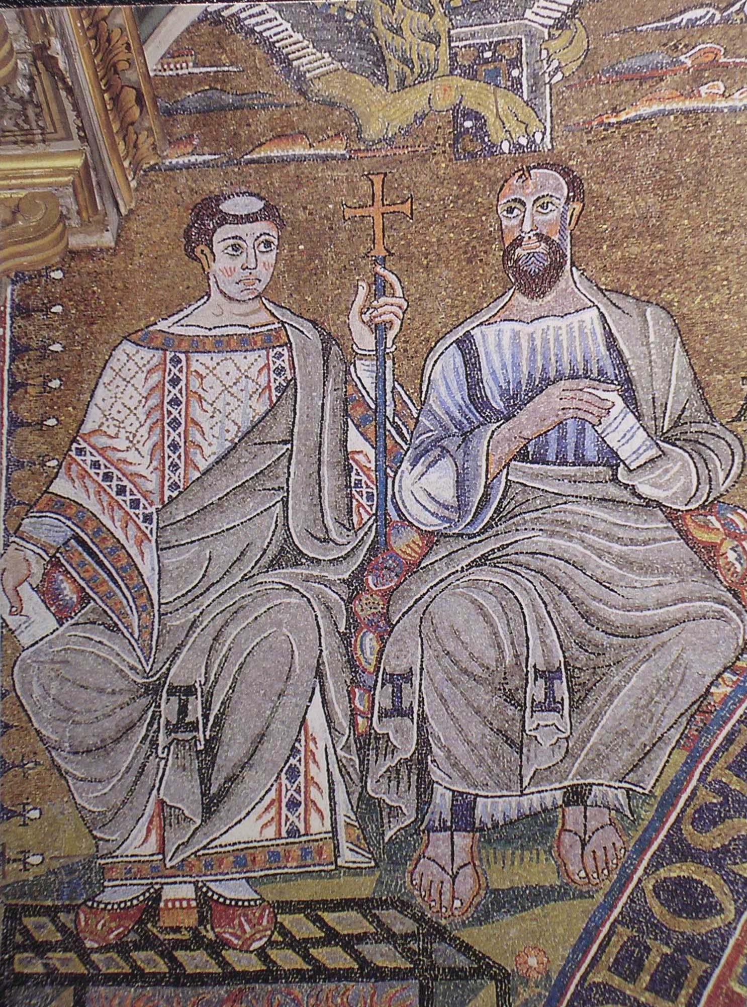 Mosaico di s.Clemente. (28)