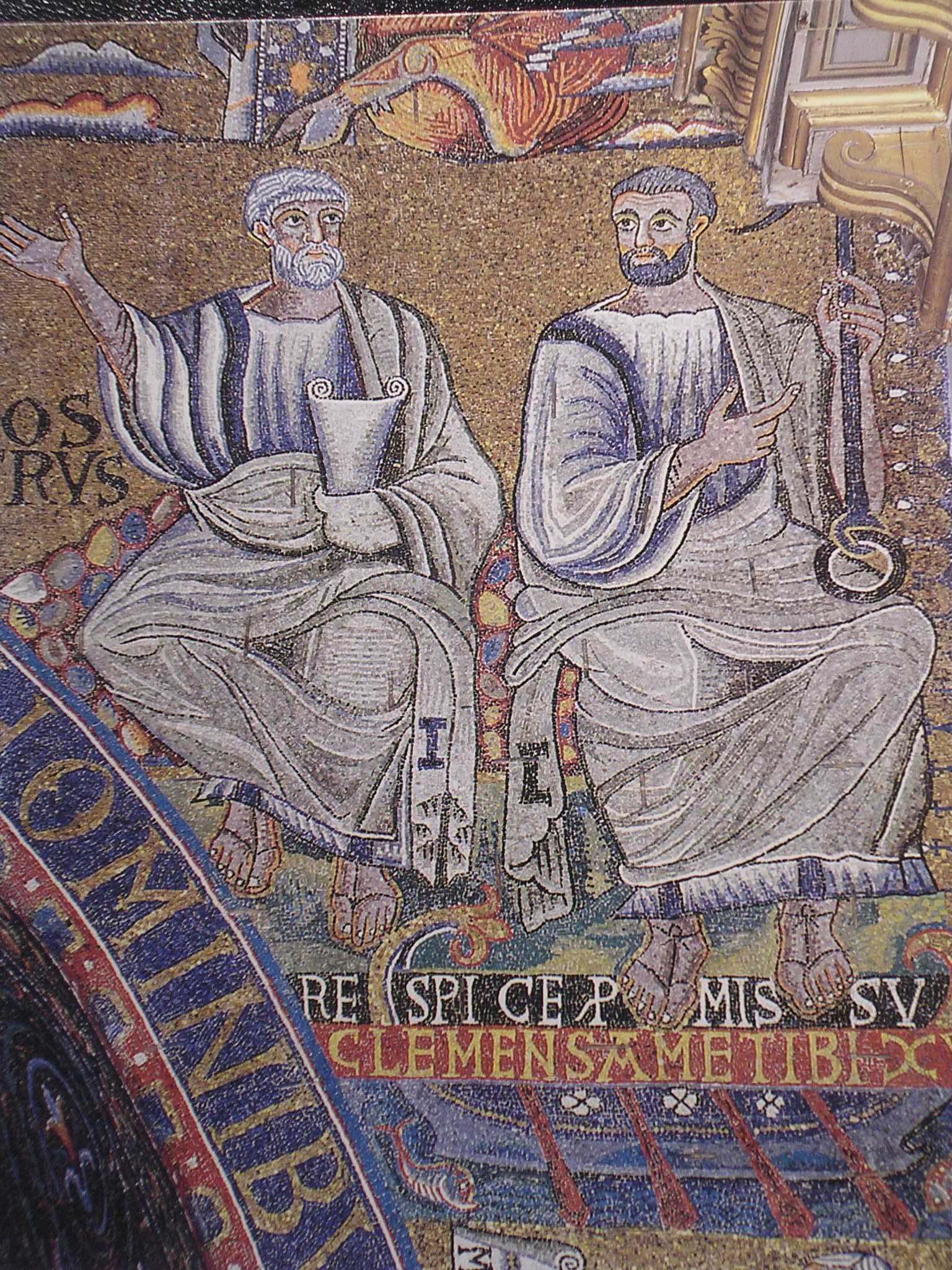 Mosaico di s.Clemente. (31)