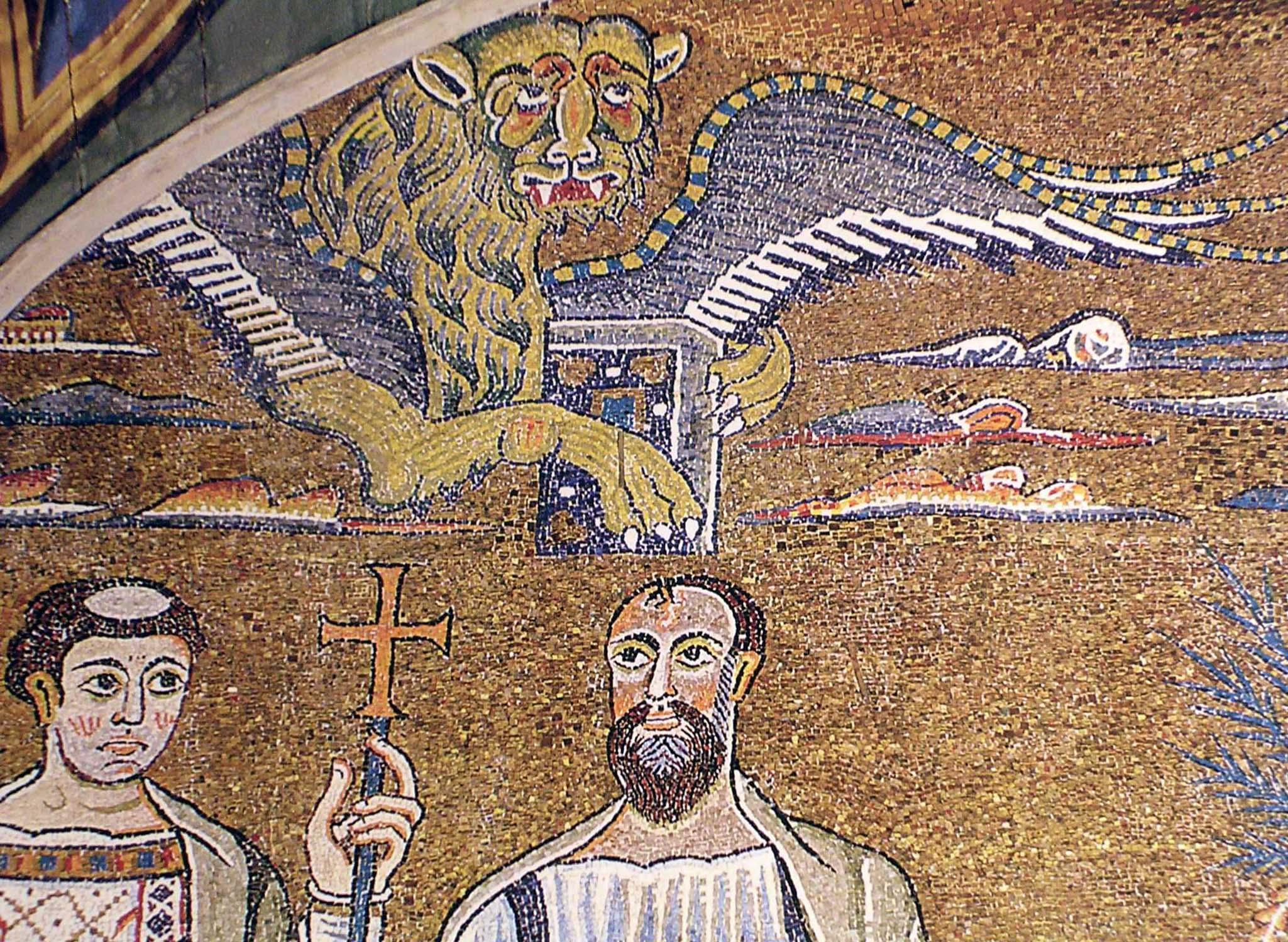 Mosaico di s.Clemente. (32)
