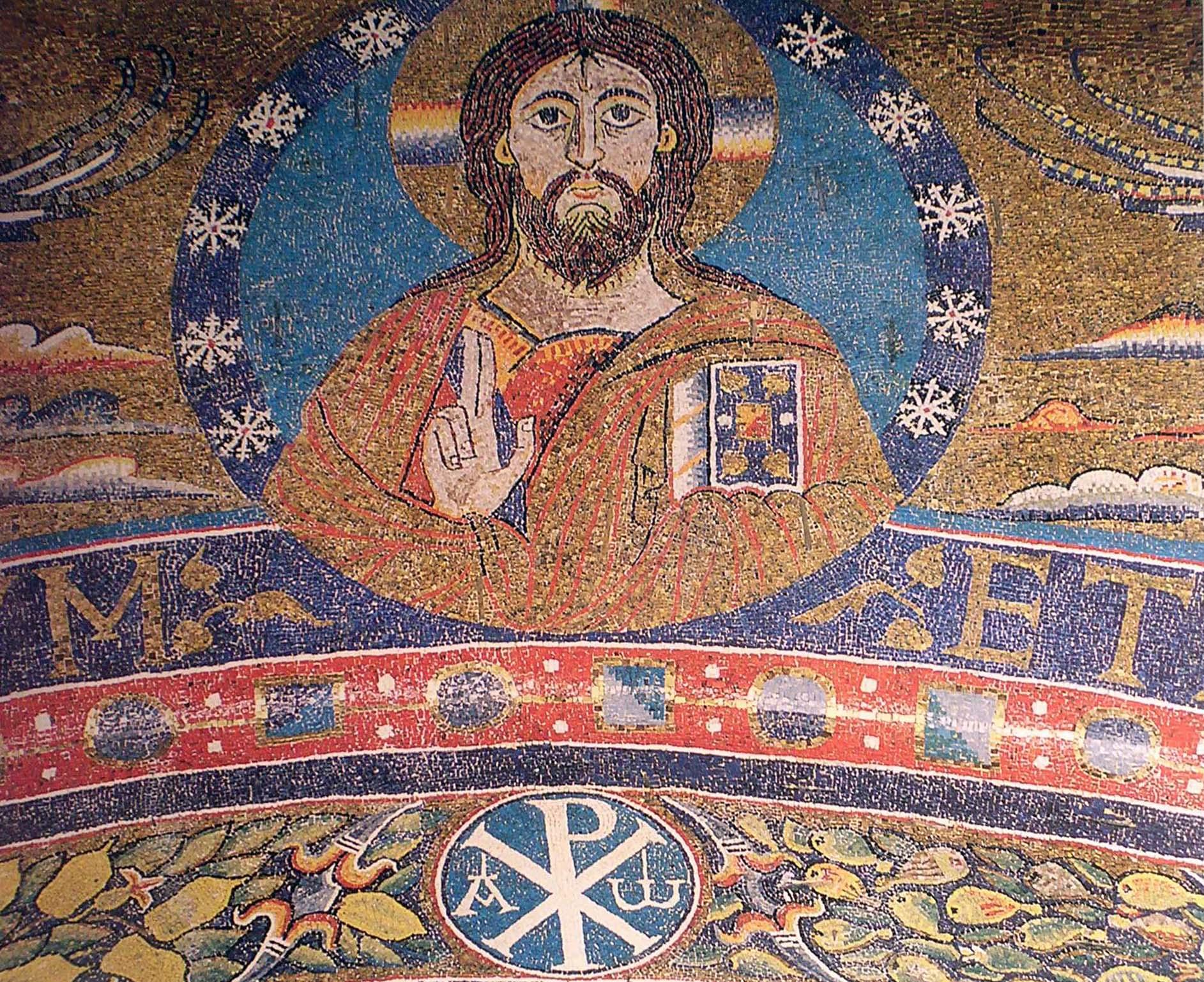 Mosaico di s.Clemente. (36)