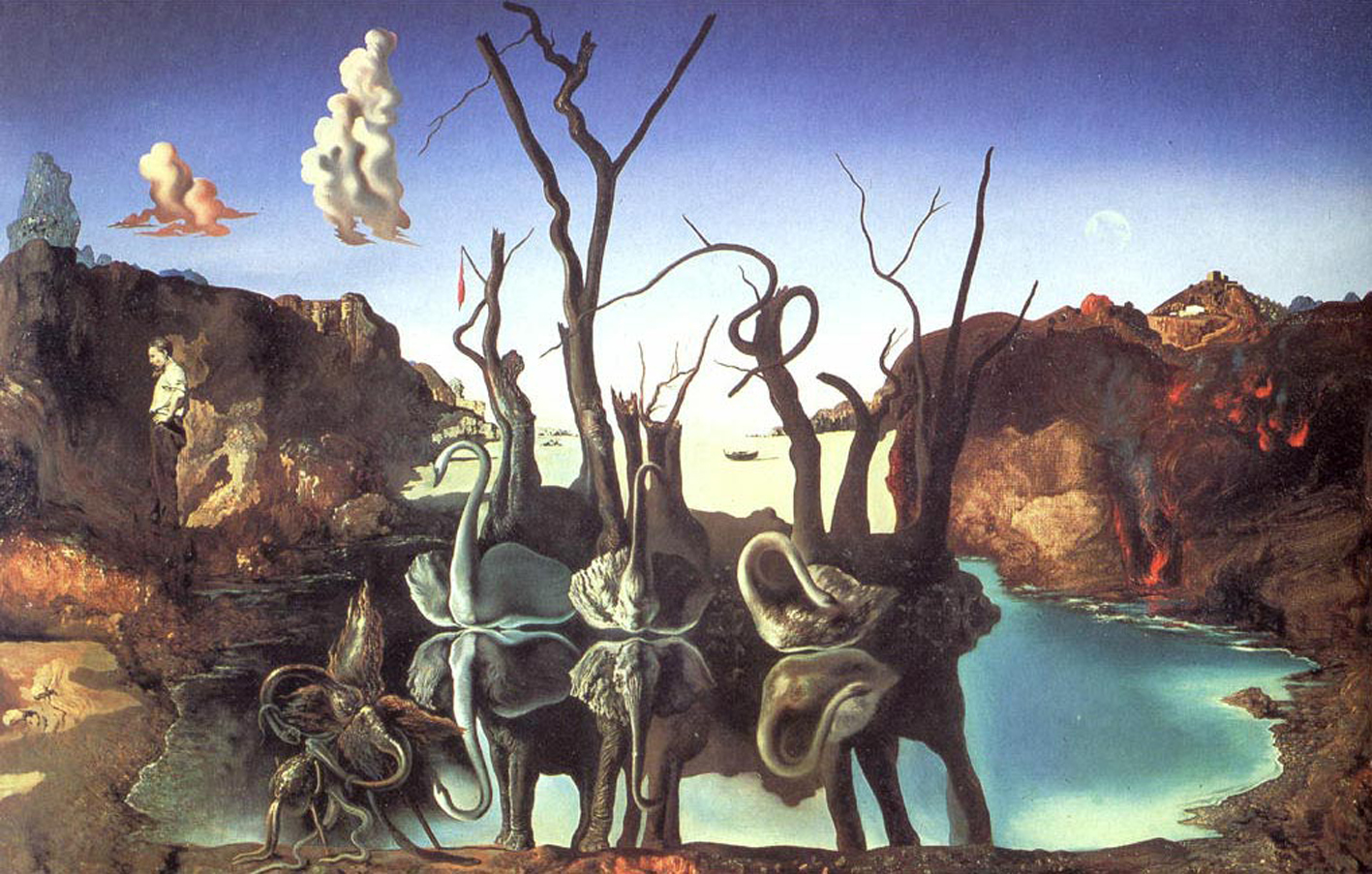 salvador dalis work Full information about salvador dalí's artwork catalogue raisonné of paintings, collections, exhibitions, etc collection many of the works managed by the dalí foundation are exhibited in the permanent.