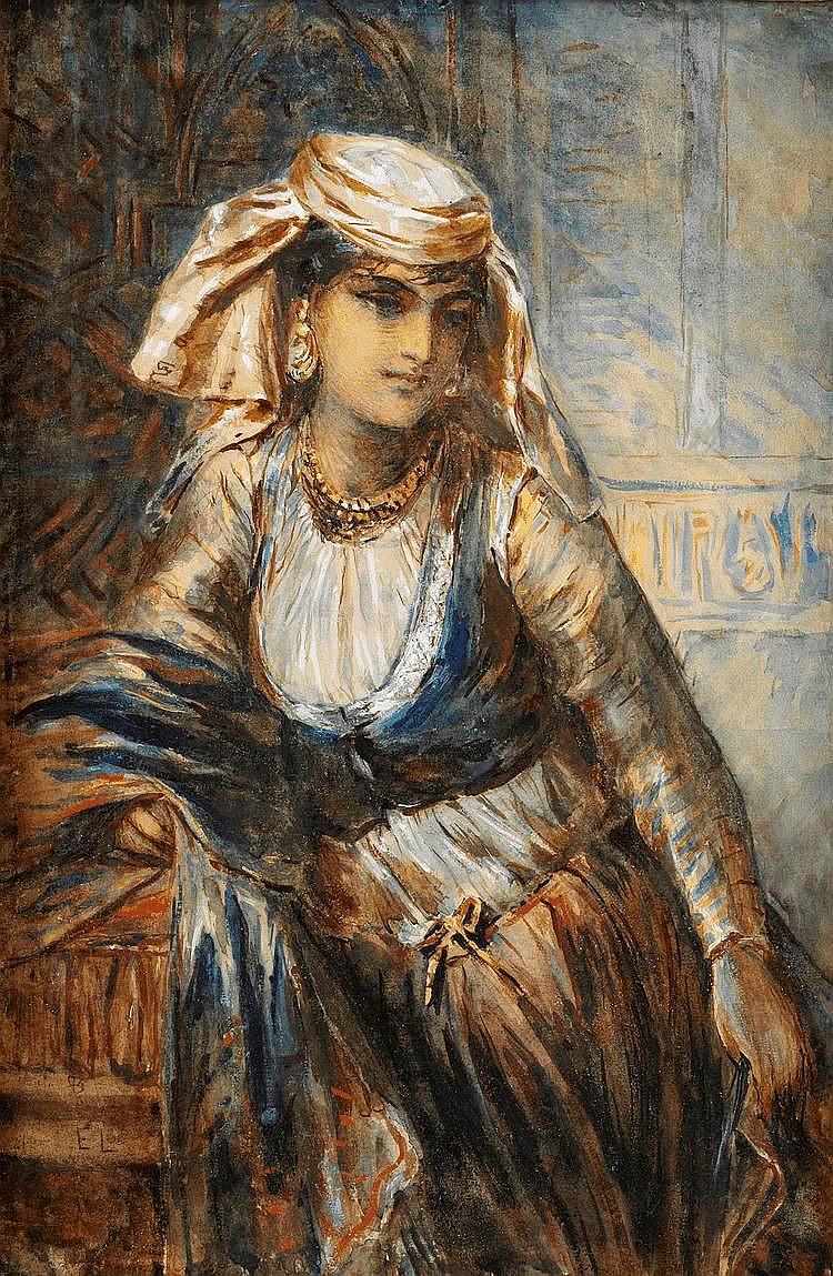 Egyptisk flicka