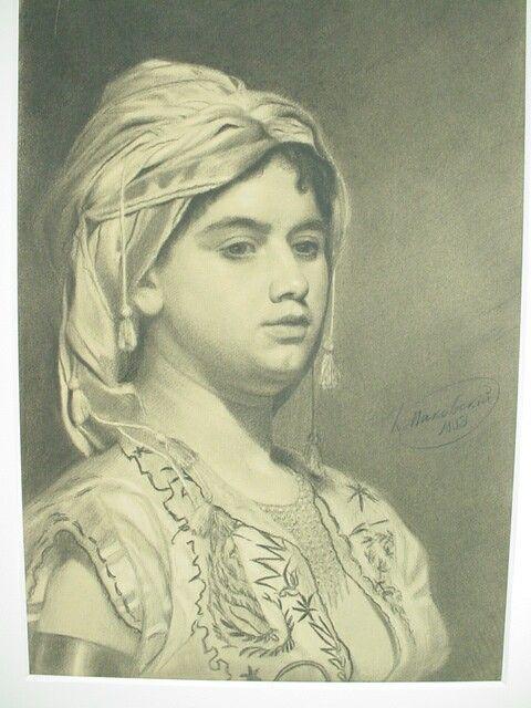 Pudgy Gypsy Girl