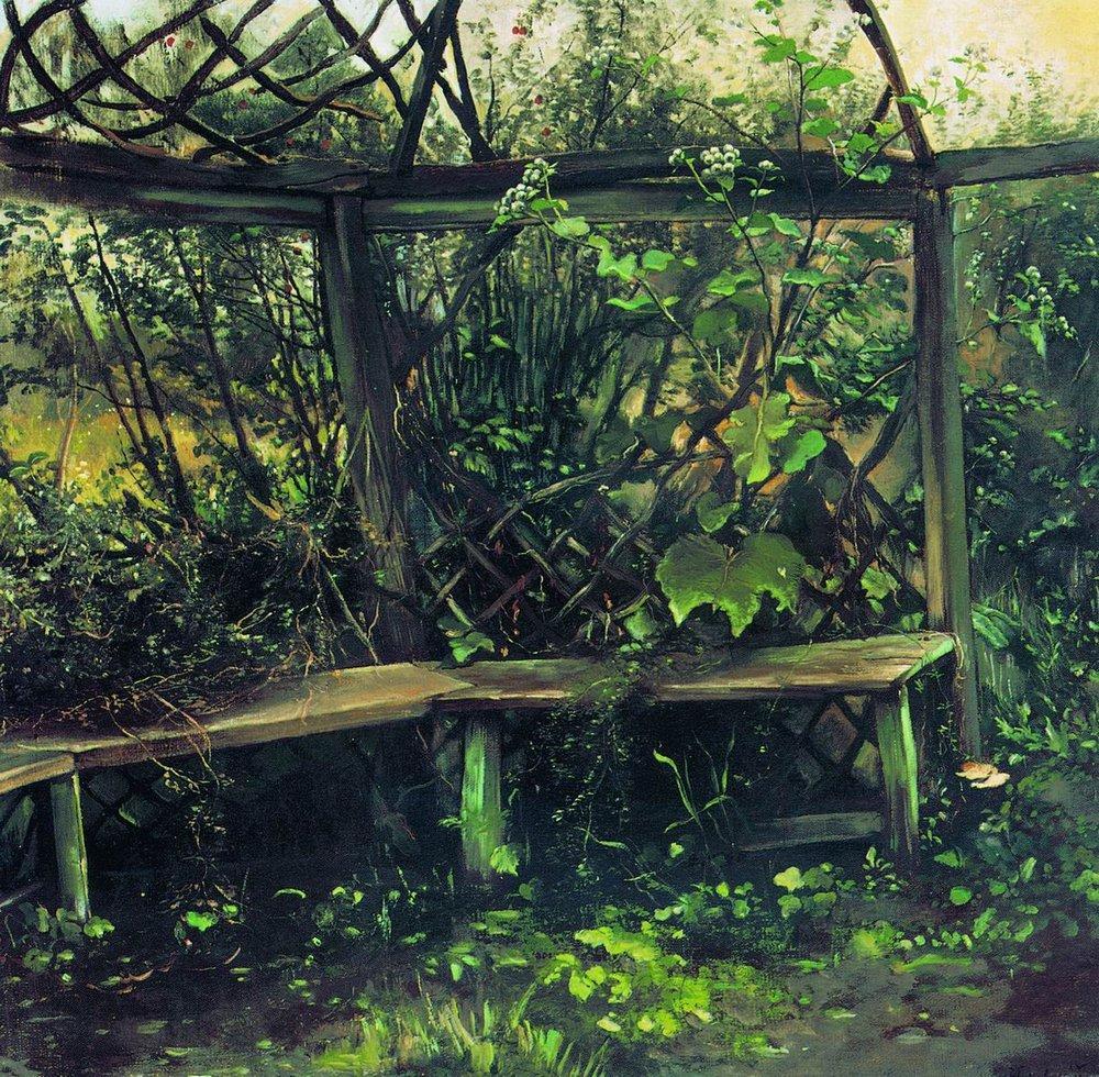 Беседка. 1889