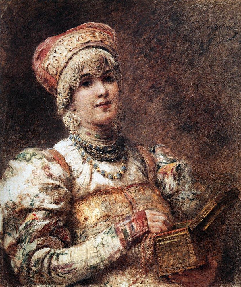 Боярышня. 1890-1900-е