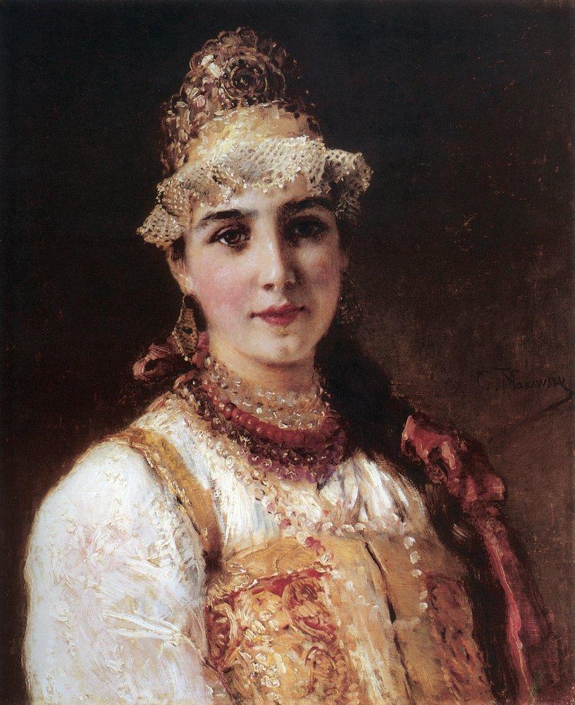 Боярышня. 1890-е