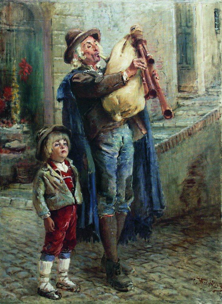 Бродячие музыканты. Конец 1900-х – 1910-е