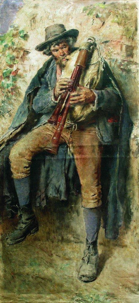 Волынщик. Конец 1900-х – 1910-е