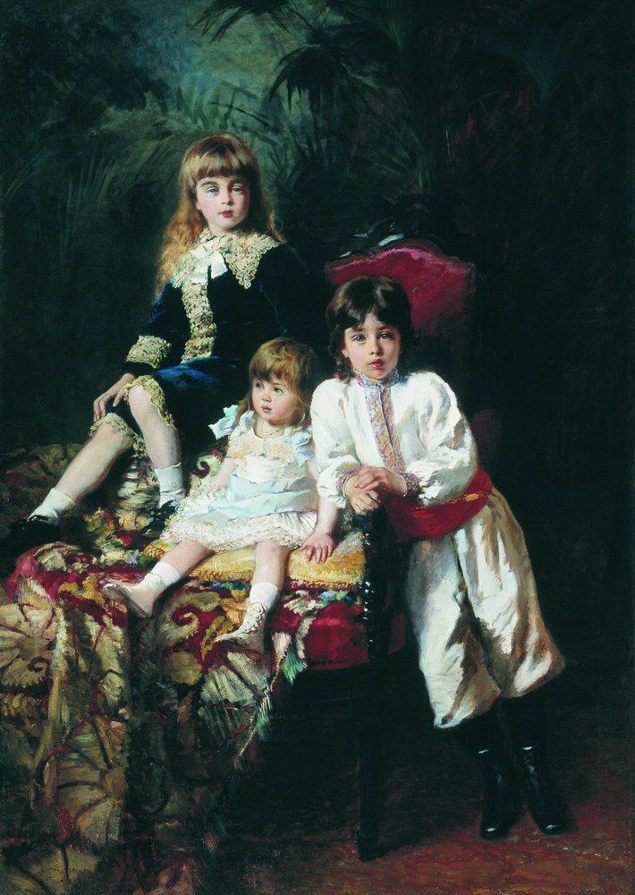 Дети господина Балашова. 1880