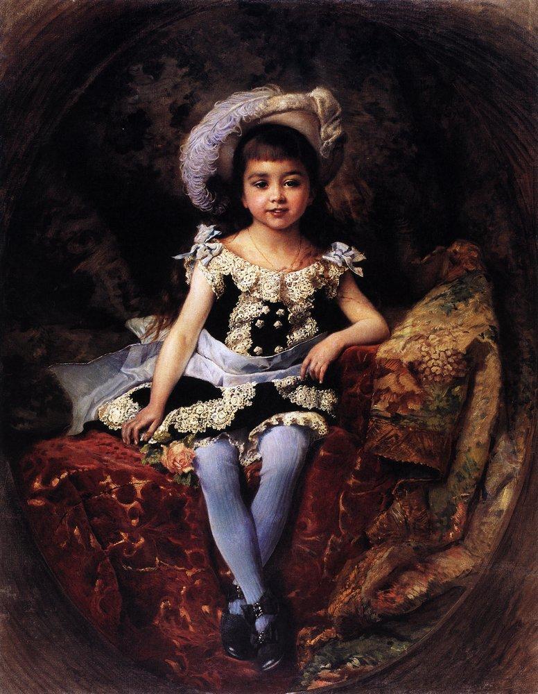 Детский портрет. 1879