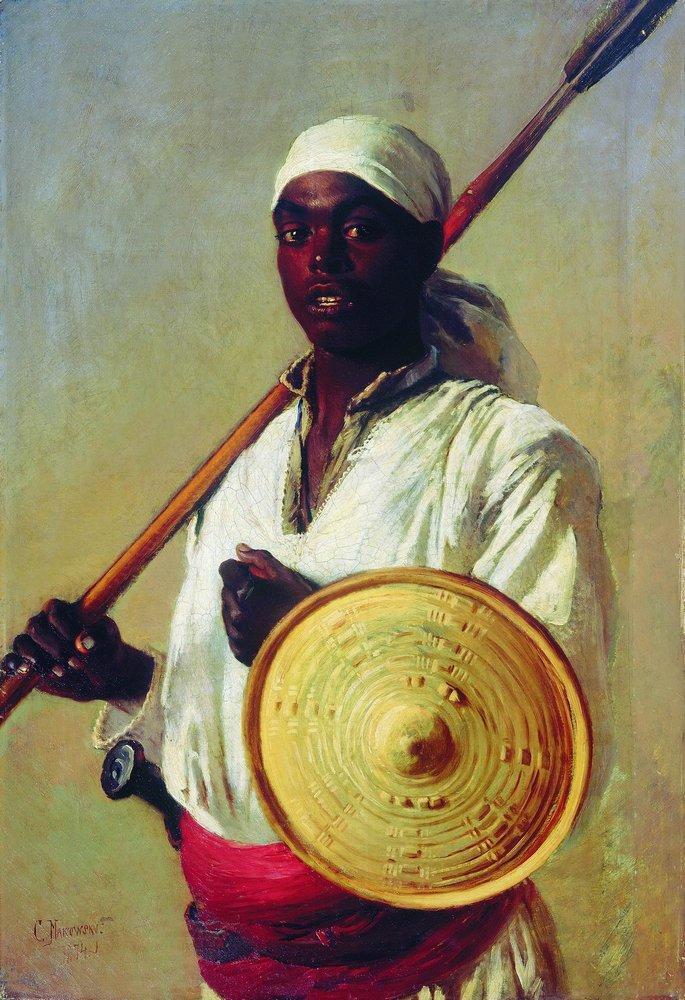 Египетский воин. 1871