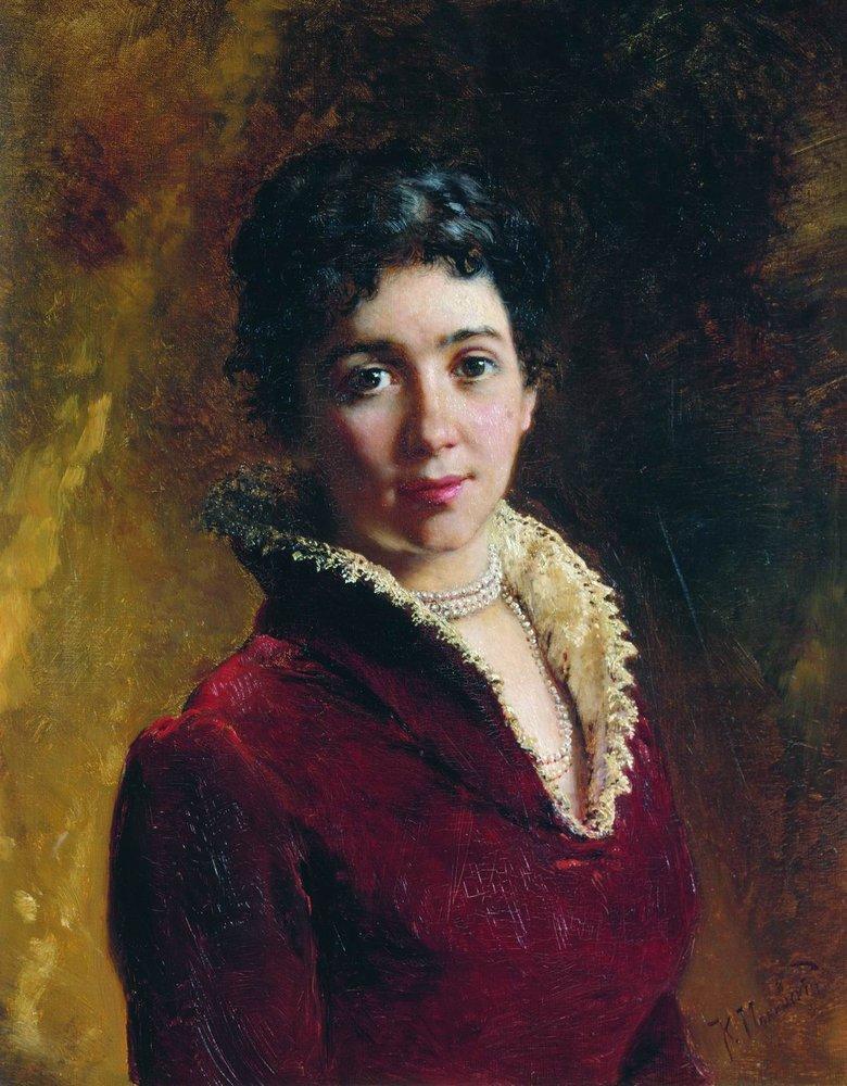 Женский портрет1. 1880-е