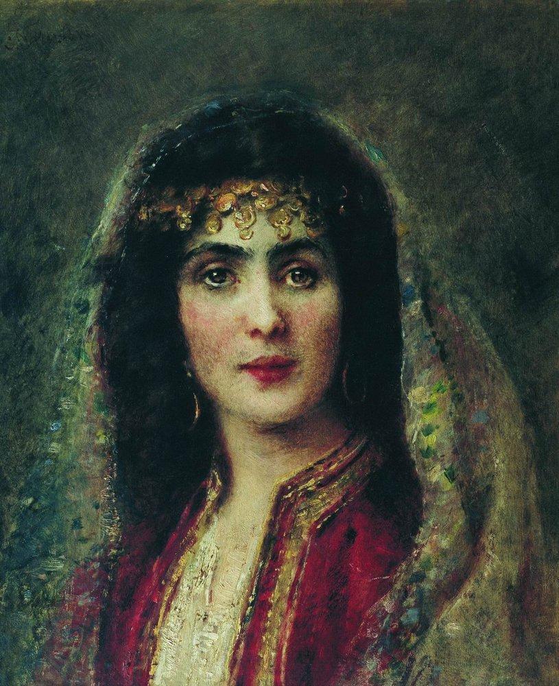 Женский портрет1