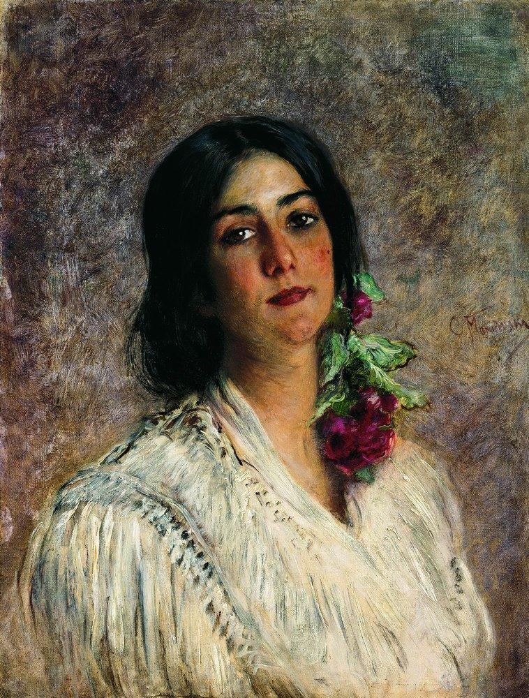 Женский портрет2. 1880-е