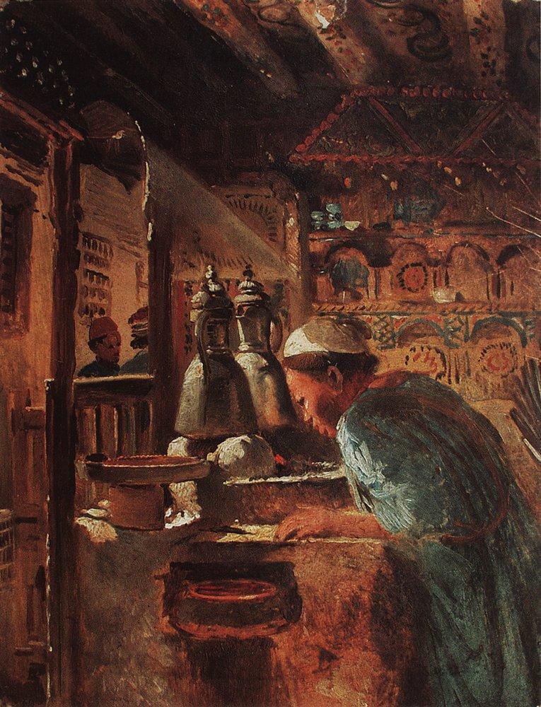 Каир. Жанровая сцена. 1870-е