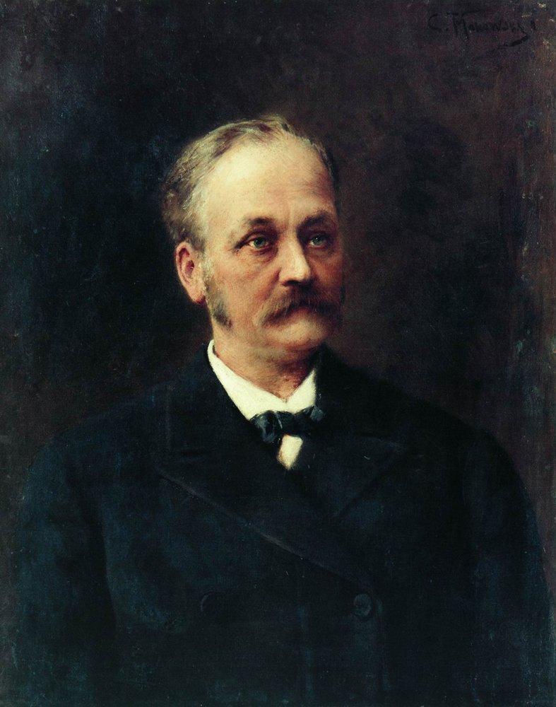 Мужской портрет. Конец 1860-х - начало 1870-х