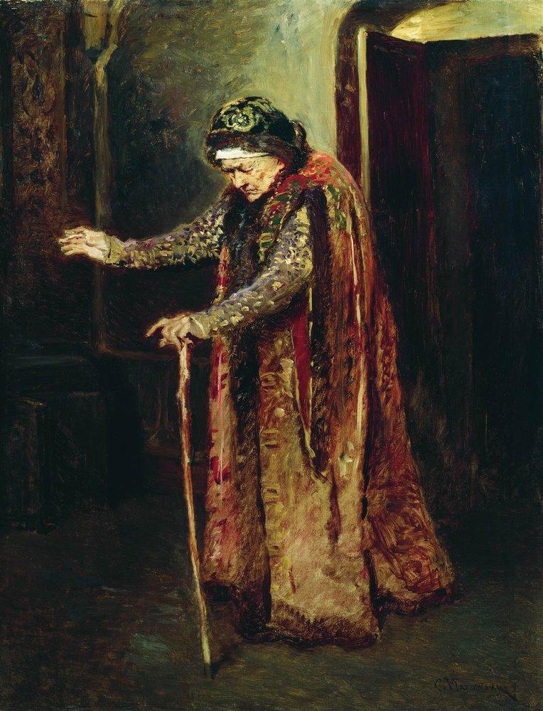 Нянька Ивана Грозного. 1880