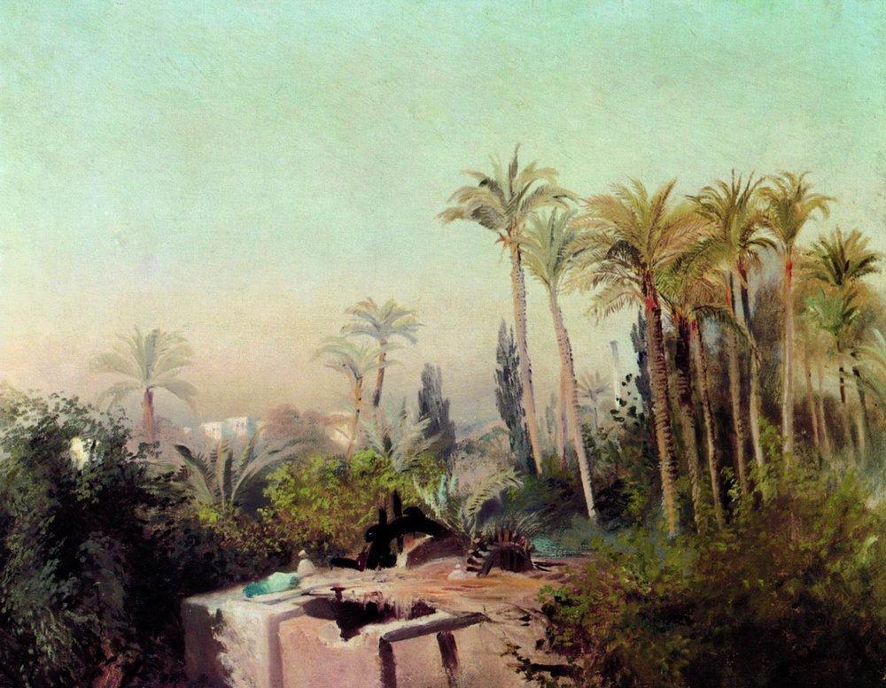 Оросительная система в Египте. 1870-е