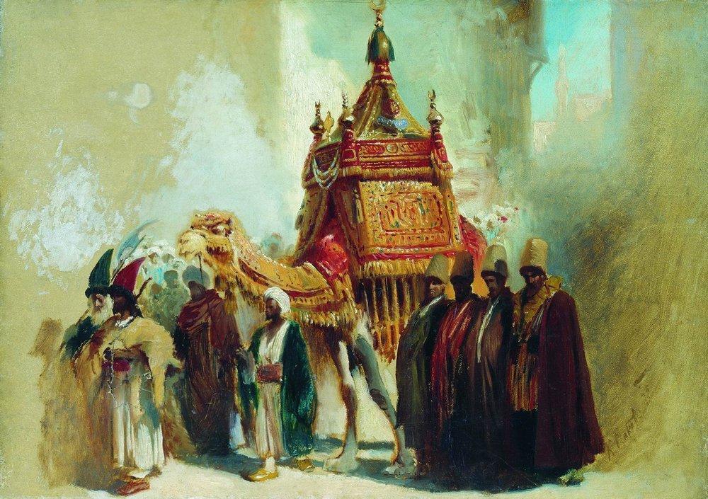 Перенесение священного ковра из Мекки в Каир