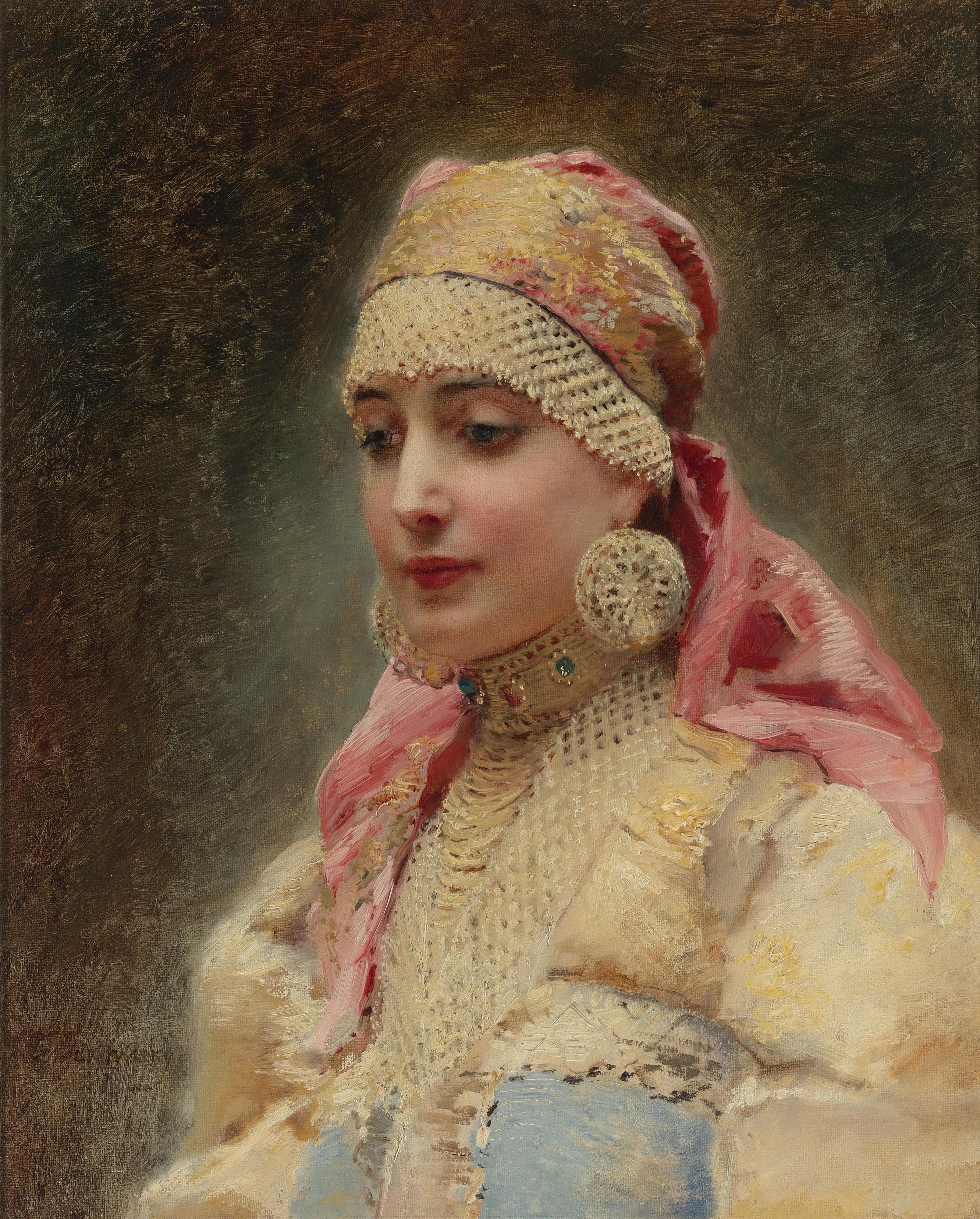 портрет боярыни