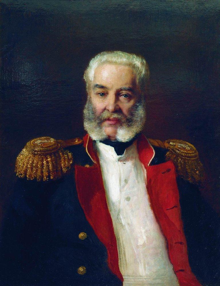 Портрет графа Адлерберга. 1883