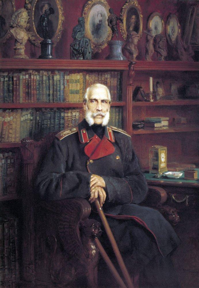 Портрет графа Сергея Григорьевича Строганова. 1882