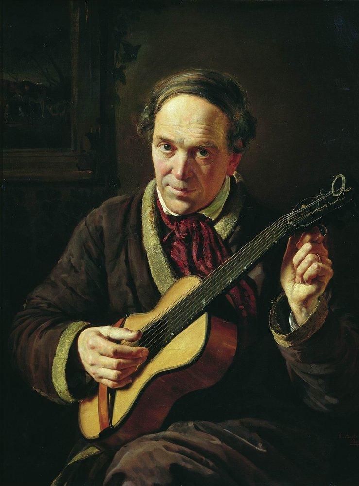 Портрет Е.И.Маковского, отца художника. 1856