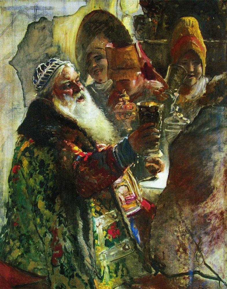 Портрет князя П.П.Вяземского. Начало 1880-х