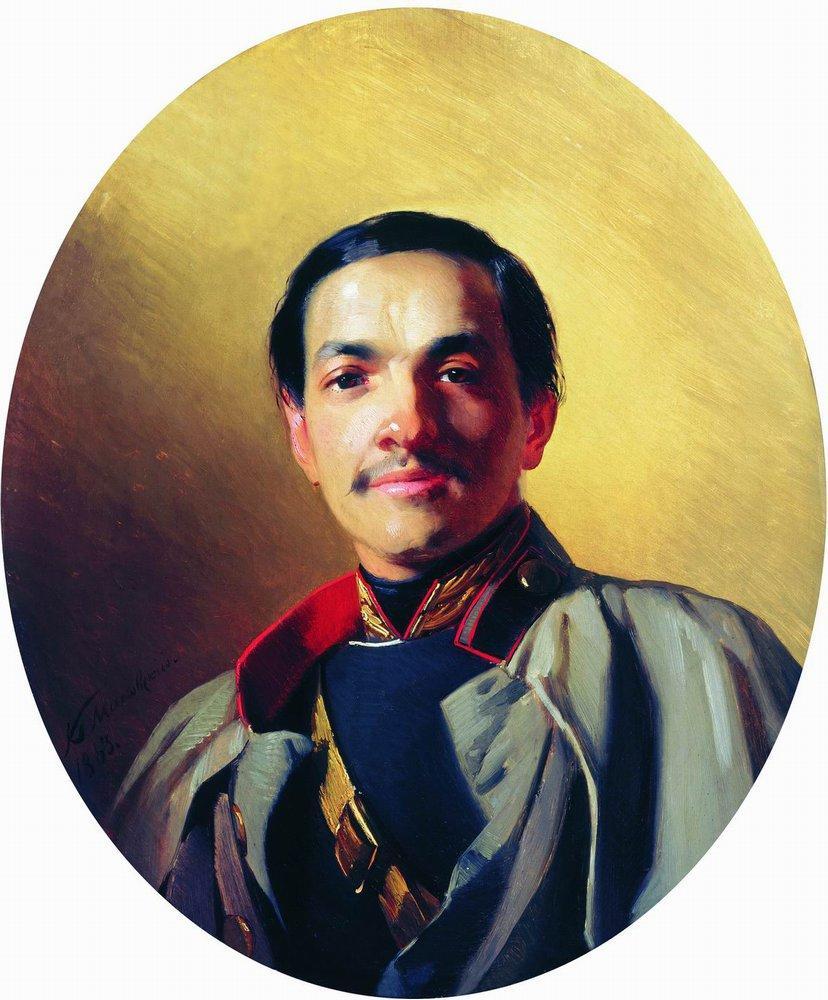 Портрет неизвестного. 1863