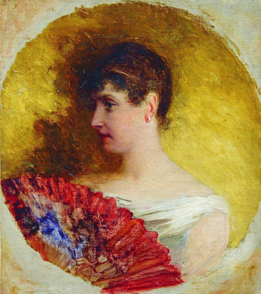 Портрет Обуховой. 1900-е