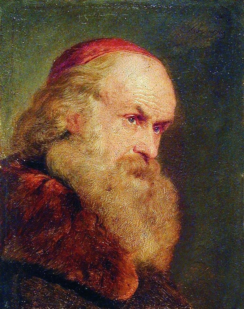 Портрет старика. Начало 1860-х