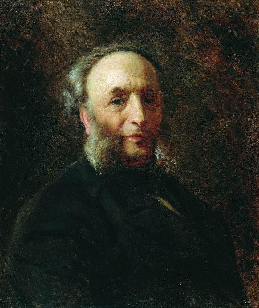 Портрет художника И.К.Айвазовского. 1887