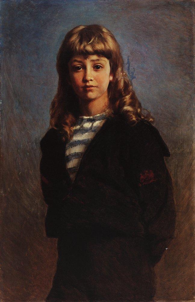 Сережа (Портрет сына в матроске). 1887
