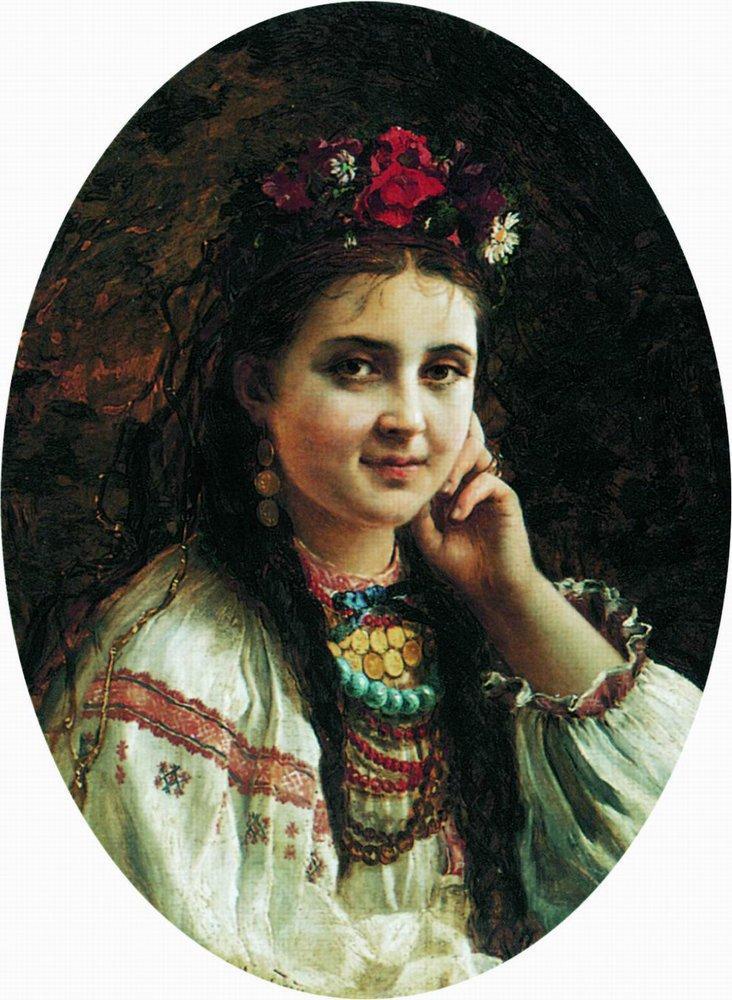 Украинка. 1884