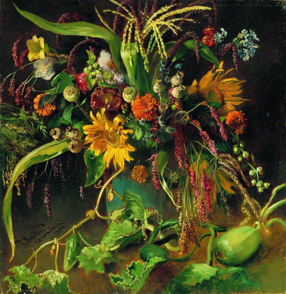 Цветы1. 1884