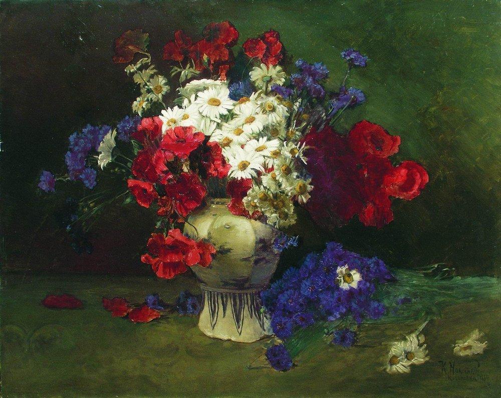 Цветы2. 1884