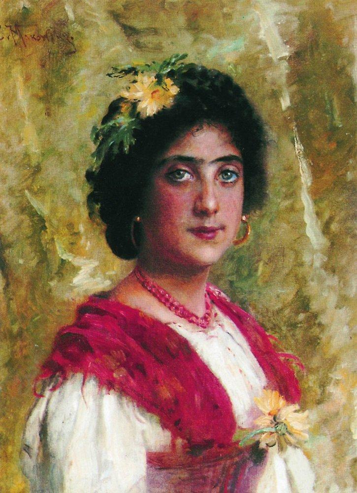 Цыганка1. 1880-е