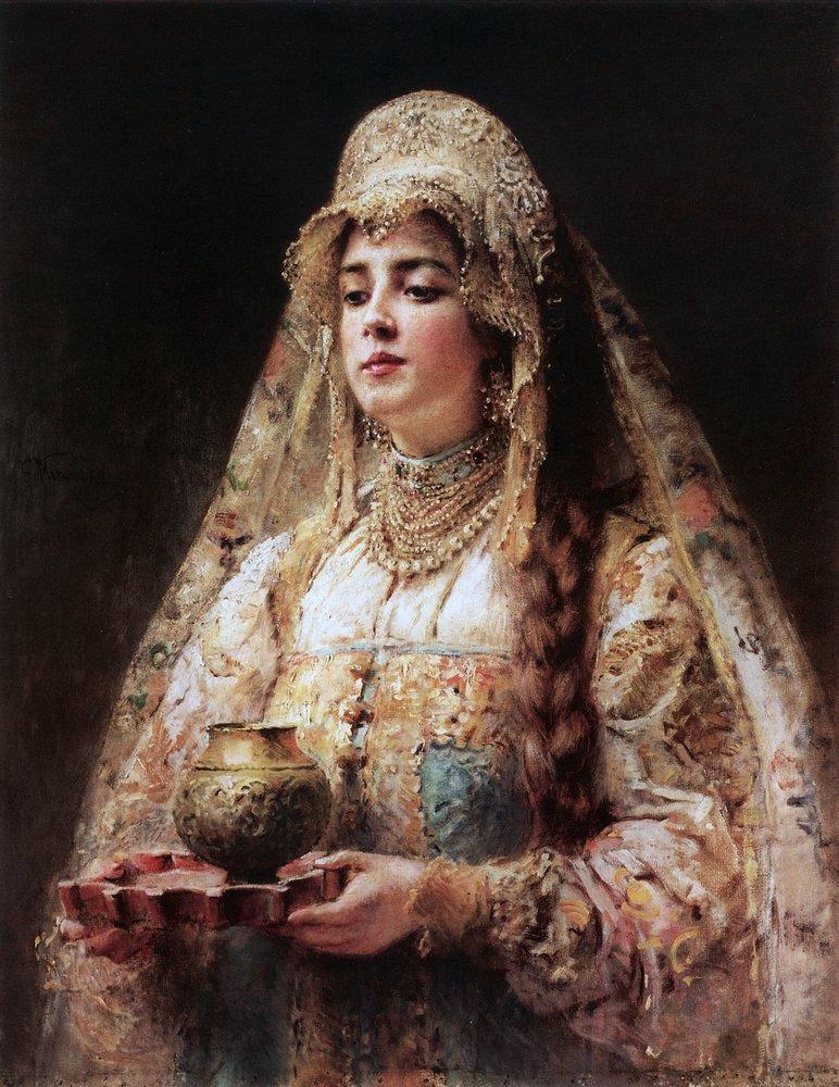 Чарка меду. 1890-е