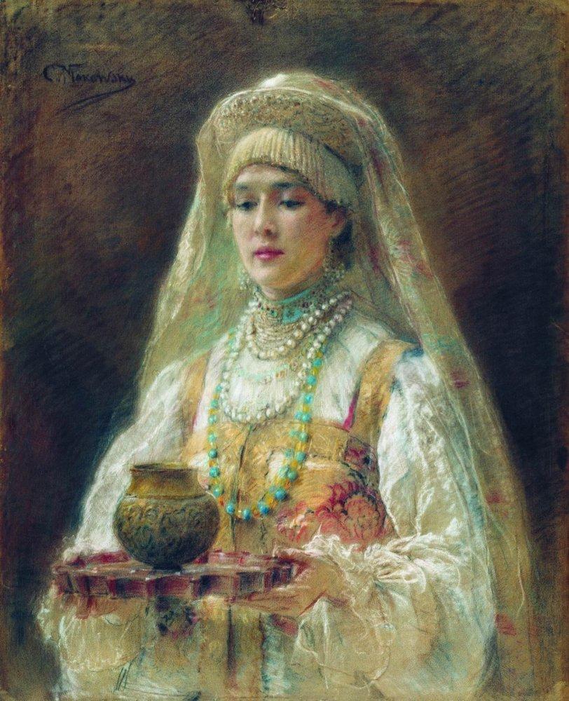 Чарка меду. Около 1910