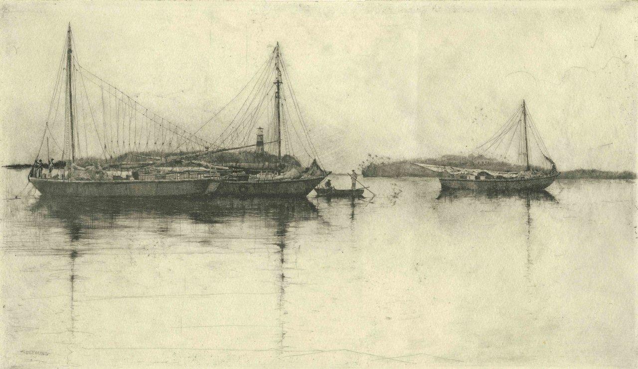 Nassau Harbour Sloops