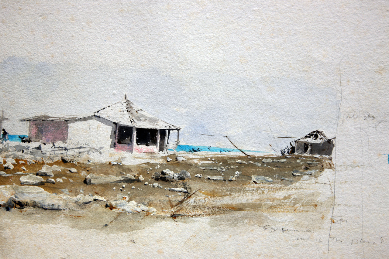 Study for Out Island