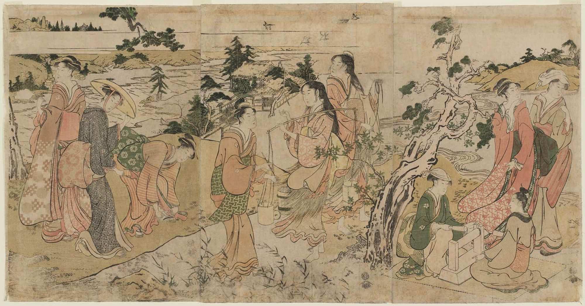 Триптих Шесть драгоценных рек__1785-1789