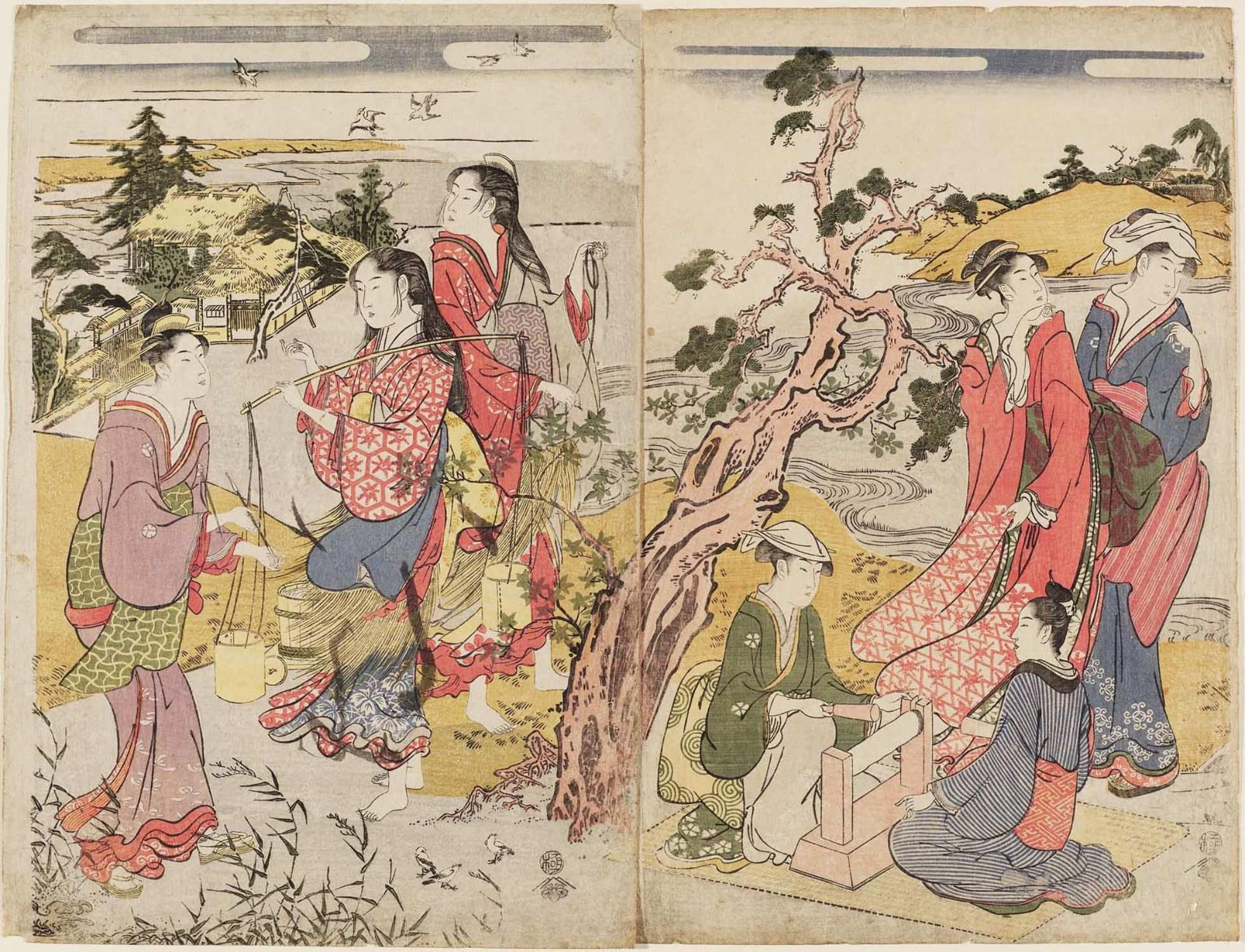 Триптих Шесть драгоценных рек__1785-1789_листы 2 и 3_390х525 мм