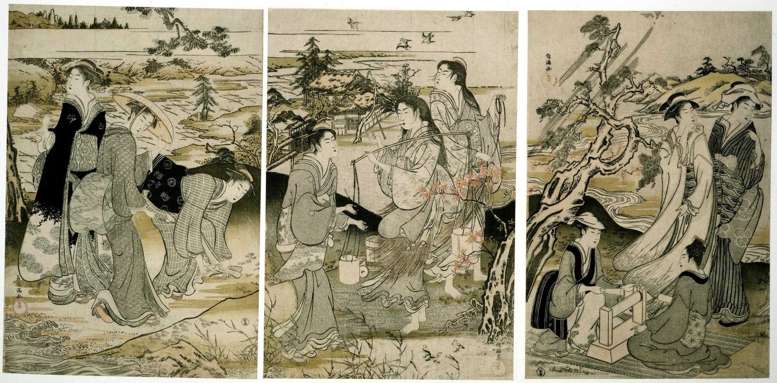 Триптих Шесть драгоценных рек_1785-1789